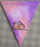 My February Bunting